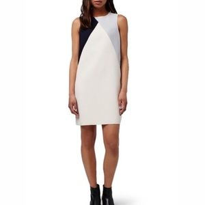 Topshop A-like colorblock dress